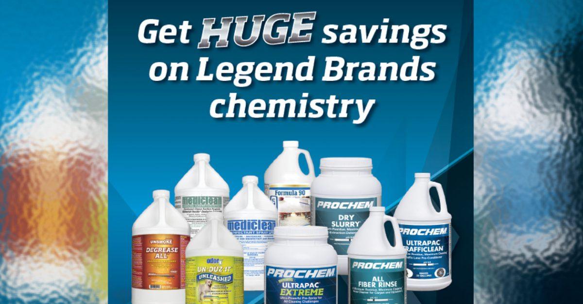 Get HUGE savings on Legend Brands chemistry