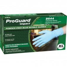 Powder-Free Nitrile Gloves , x-large