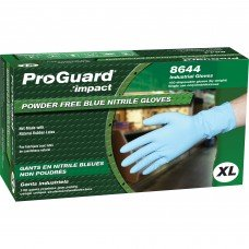 Powder-Free Nitrile Gloves , x-large
