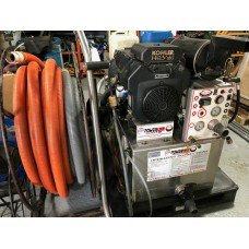 Used Powerline with hose, reels and wand