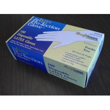 Powder-Free Exam Gloves, medium