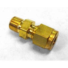 Connector, 1/8p x 1/4t Comp Br