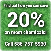 Save 20% on Most Chemicals