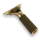 Master Brass Quick Release Handle, Rubber Grip