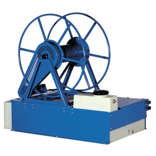Motorized Vacuum Hose Reel Water Tank Solution Reel Pump