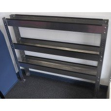 Three-tier truckmount shelf